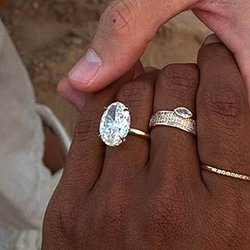 Model Jasmine Tookes Dishes About Her Romantic Adventure and 7-Carat Diamond Ring
